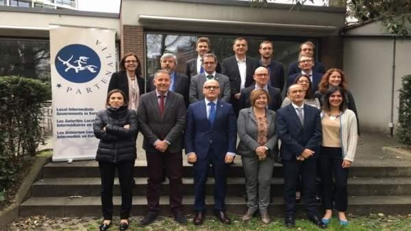 Reunión de Partenalia en Bruselas