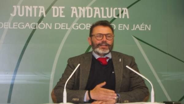 El delegado de Fomento y Vivienda, Rafael Valdivielso