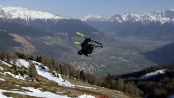 Un esquiador logra el primer cuádruple de la historia