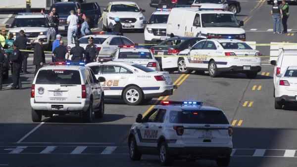 Dispositivo policial en Washington