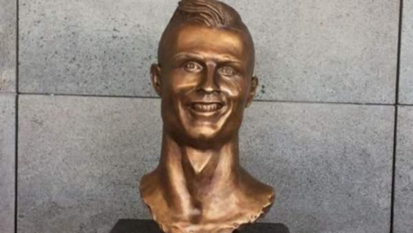 Busto de Cristiano Ronaldo
