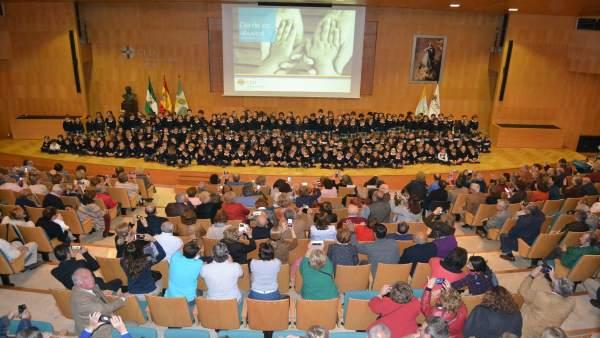 Día del Abuelo en el colegio San Pablo CEU-Sevilla