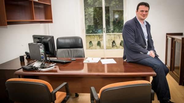 David González, concejal de Ciudadanos (C's) en Santander