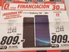 Media Markt promociona el Galaxy S8 en un folleto antes de su presentación