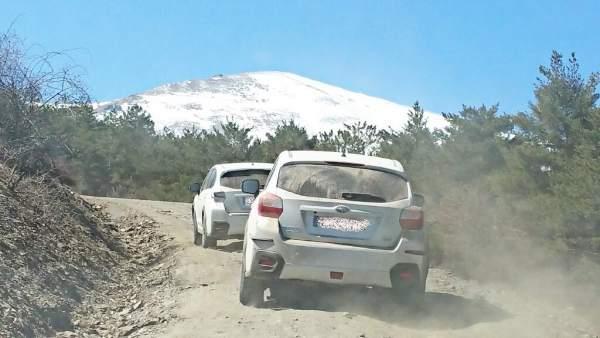 La Marquesa acogió la mayor concentración de coches Subaru.