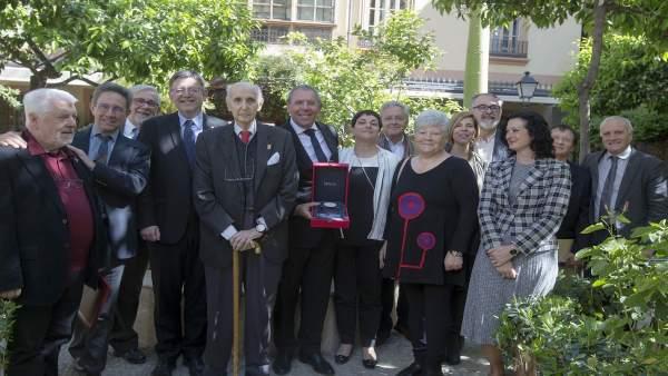 El CVC concedeix la seua medalla d'honor a la Fundació Rolser-Server i Pérez