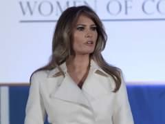 """Melania Trump: """"La era de la brutalidad contra las mujeres se ha acabado"""""""