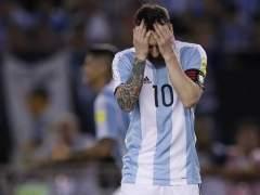 """Messi: """"Insulté al aire, no al árbitro"""""""