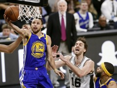 Curry y Thompson también silencian a los Spurs de Gasol