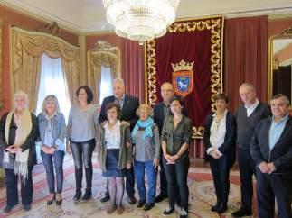 Recepción a la Asociación de Empleadas del Hogar de Navarra