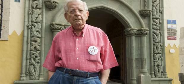 El historiador Antonio de Béthencourt Massieu fallece a los 97 años en Gran Canaria