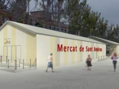 Barcelona invertirá 9,5 millones en remodelar el mercado de Sant Andreu