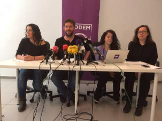 Albano-Dante Fachin, Ruth Moreta, Noelia Bail, Laura Haba (Podem).