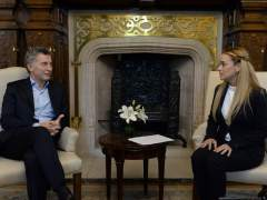 Mauricio Macri y Lilian Tintori
