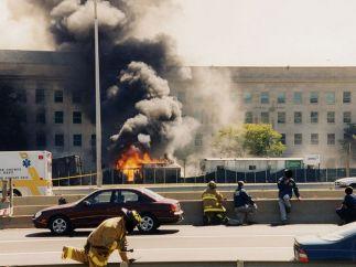 Columna de fuego y humo