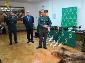Desarticulado un grupo de caza furtiva que actuaba en Teruel y Guadalajara
