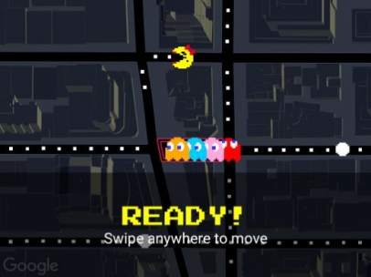 Juega a Pac-Man en tu ciudad y en cualquier lugar del mundo con Google Maps