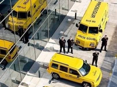 Prosegur, camiones