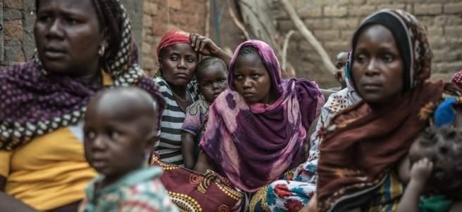 Mujeres en República Centroafricana