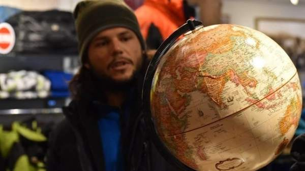 Ignacio Dean ha dado la vuelta al mundo a pie