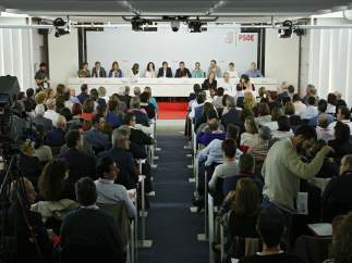 Reunión del Comité Federal del PSOE