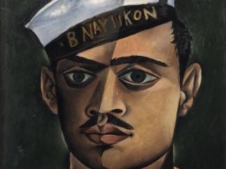 John Craxton - Head of a Greek Sailor, 1940