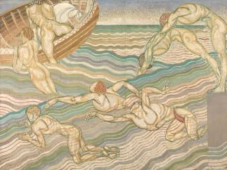 Duncan Grant, Bathing 1911