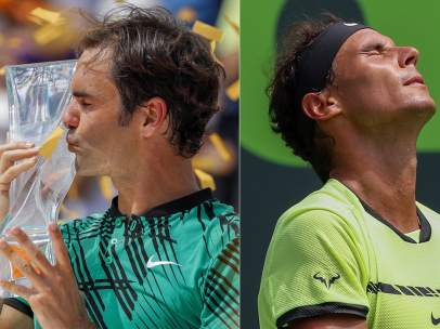 Federer y Nadal en Miami