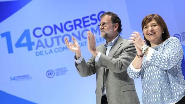 Rajoy respalda a Bonig como líder del PPCV