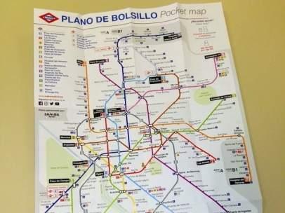 Plano ampliado de Metro