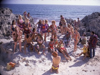 Hippie Royalty on the Rocks - Ibiza, 1969