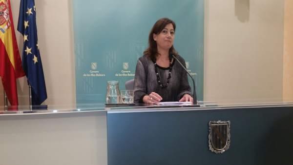 Armengol anunció el pasado viernes la dimisión de Ruth Mateu