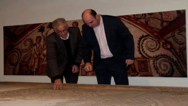 Mosaicos en el Museo de Teruel