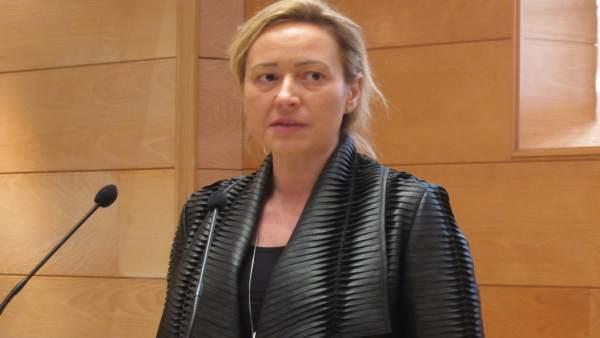 Marta Gastón ha resaltado la evolución 'positiva' de los datos del paro