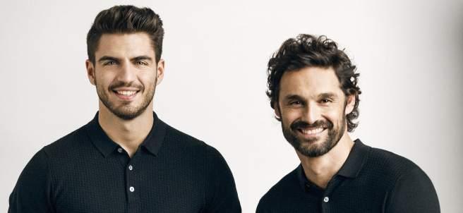 Los actores Maxi Iglesias e Iván Sánchez.
