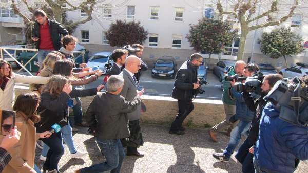 Andrés Cortabitarte, investigado en el accidente del Alvia