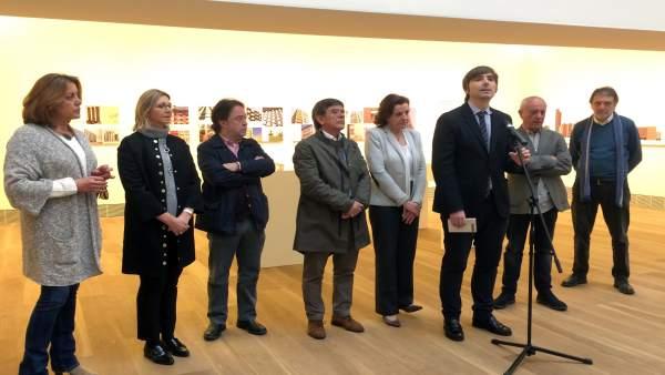 La Presentación exposición 'Una edad de oro: Arquitectura en Asturias 1950-1965'