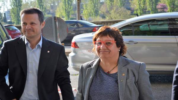 Ricard Calvo y Dolors Bassa