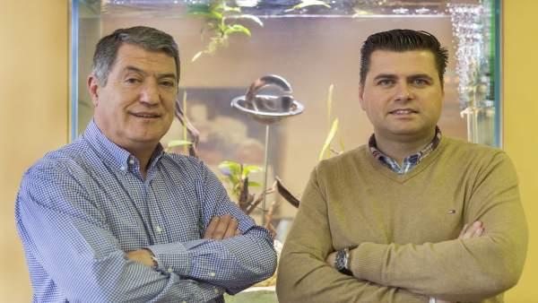 Joan Mestre y Jordi Martí (Globalimar)