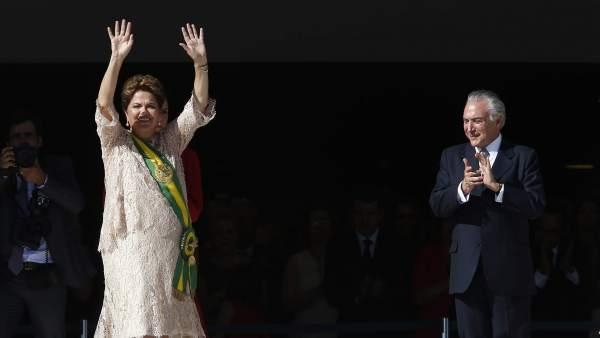 Dilma Rousseff y Michel Temer