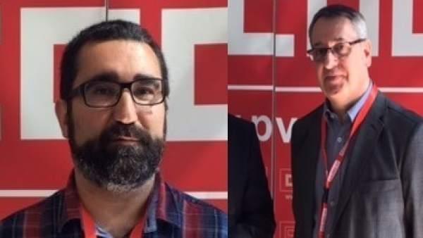 Arturo León i Jaume Mayor es disputen la secretària general de CCOO PV, després de la renúncia a la reelecció de Paco Mo