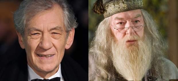 Mckellen y Albus