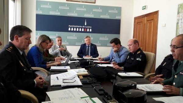 Junta Local de Seguridad de Lucena