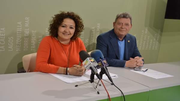 Cynthia García y Javier García del Corral