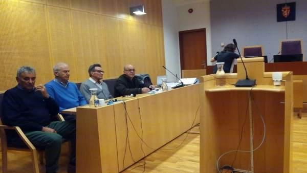 Marineros de Long Hope en juicio en Noruega