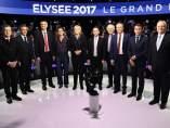 Debate presidenciales Francia