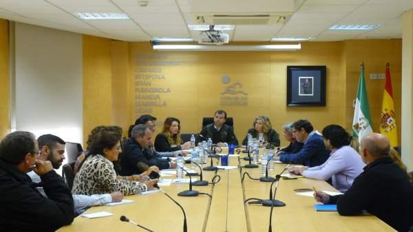 Reunión mancomunidad occidental Diego López