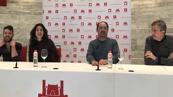 Presentación del estreno de la obra de Ruido Interno