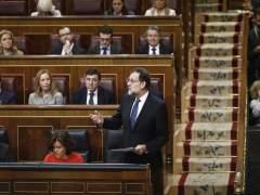 Rajoy y Santamaría en la sesión de control al Gobierno en el Congreso