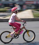 En bicicleta al colegio
